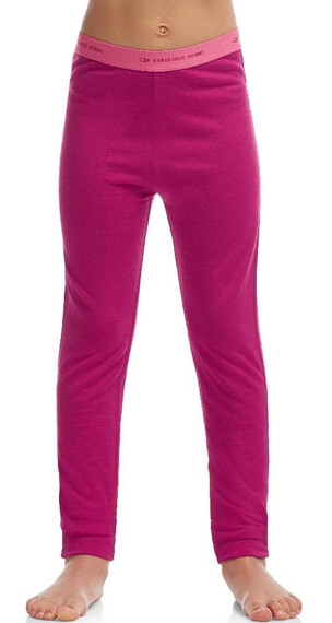Icebreaker Kids Oasis Leggings Raspberry/Shocking